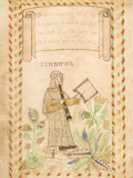 The Tenor illustration from the Wode Psalter